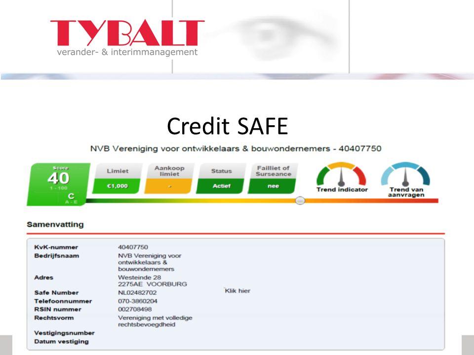 Credit SAFE