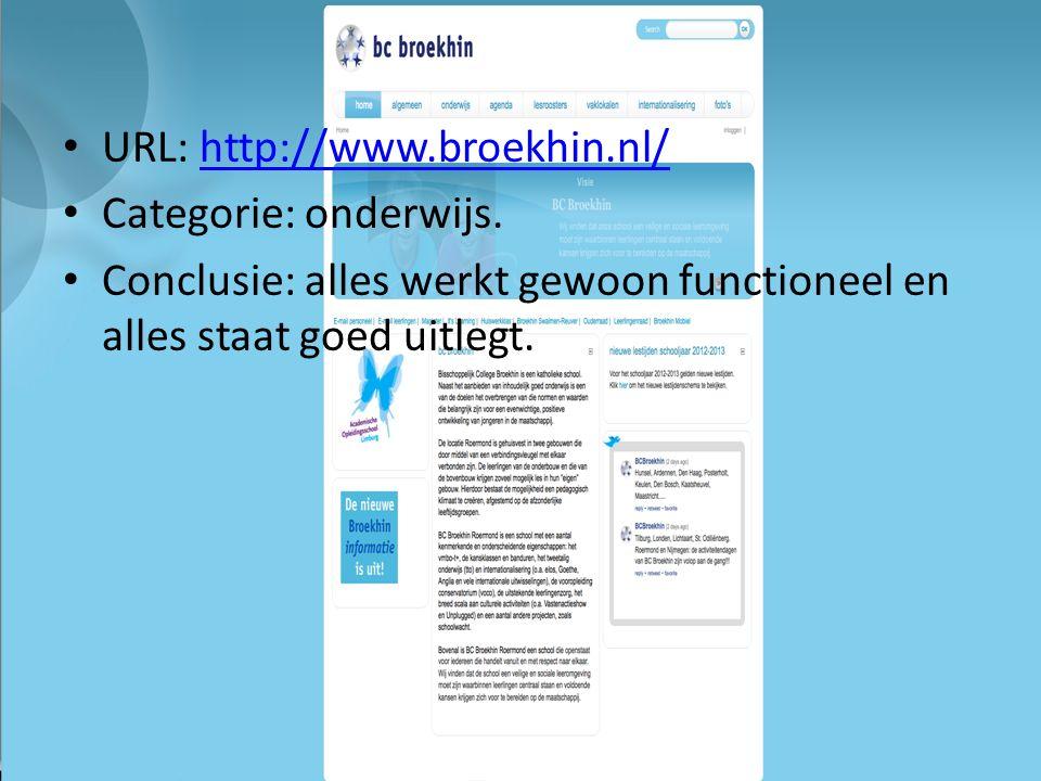 URL: http://www.broekhin.nl/http://www.broekhin.nl/ Categorie: onderwijs.