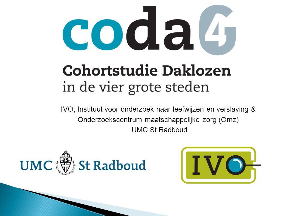 IVO, Instituut voor onderzoek naar leefwijzen en verslaving & Onderzoekscentrum maatschappelijke zorg (Omz) UMC St Radboud