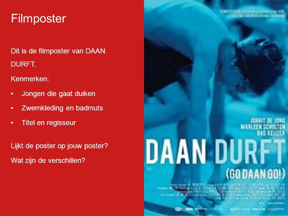 Filmp oster Dit is de filmposter van DAAN DURFT.
