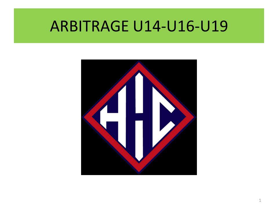 ARBITRAGE U14-U16-U19 1