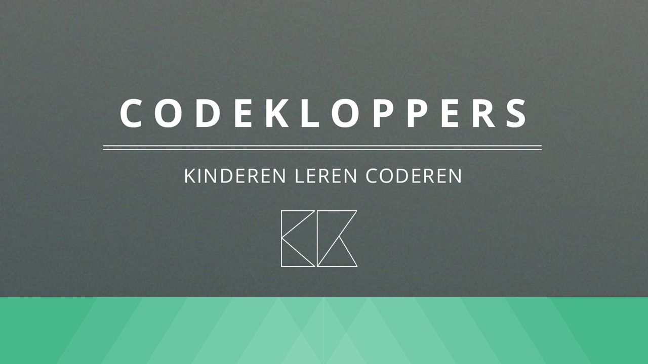 codekloppers Leren coderen