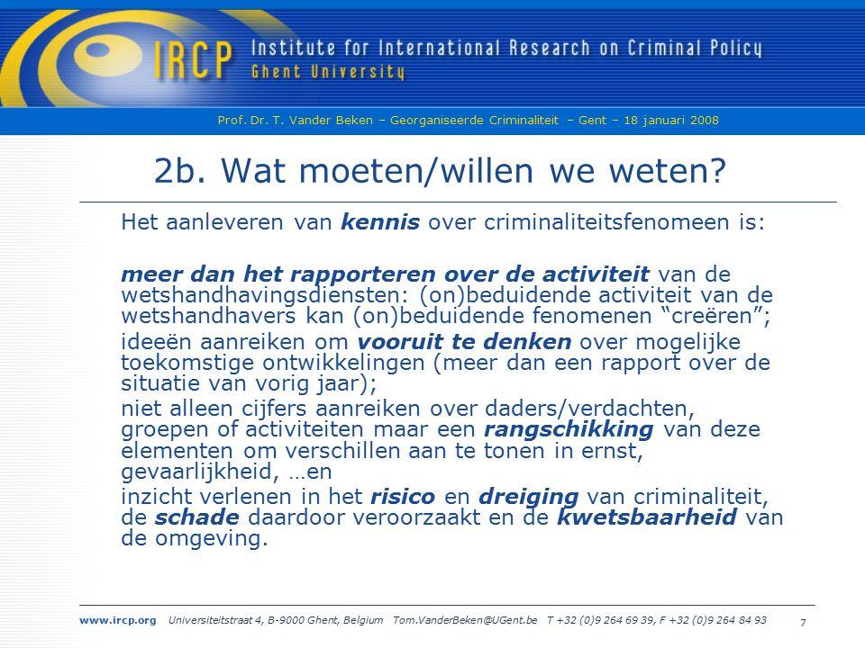 www.ircp.org Universiteitstraat 4, B-9000 Ghent, Belgium Tom.VanderBeken@UGent.be T +32 (0)9 264 69 39, F +32 (0)9 264 84 93 Prof.