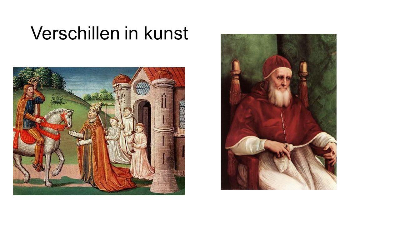 Verschillen in kunst