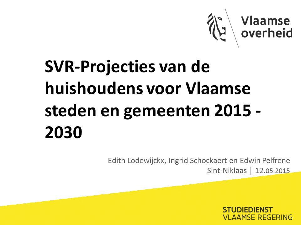 Procentuele verandering 2014-2024 Hasselt middelmatige toename totaal aantal HH