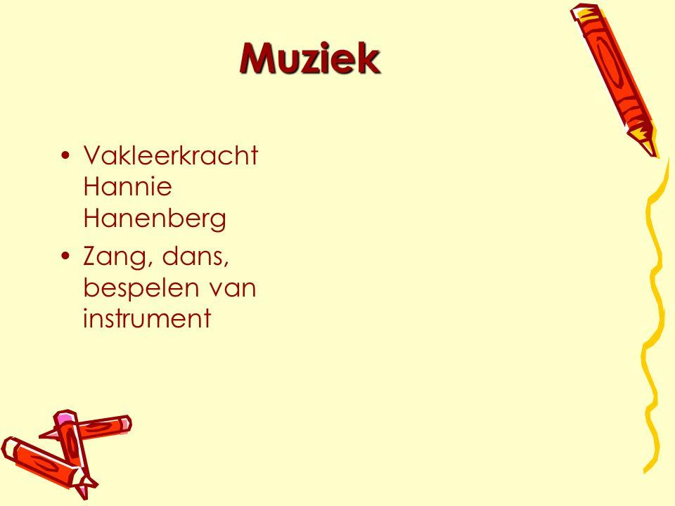 Muziek Vakleerkracht Hannie Hanenberg Zang, dans, bespelen van instrument