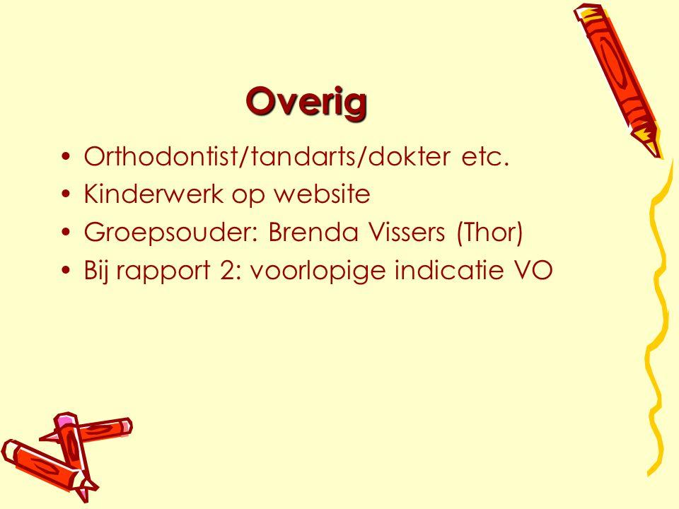 Overig Orthodontist/tandarts/dokter etc.