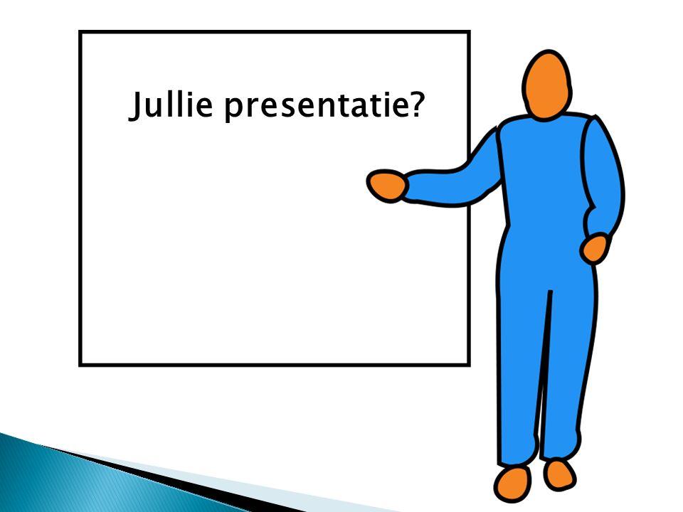Jullie presentatie