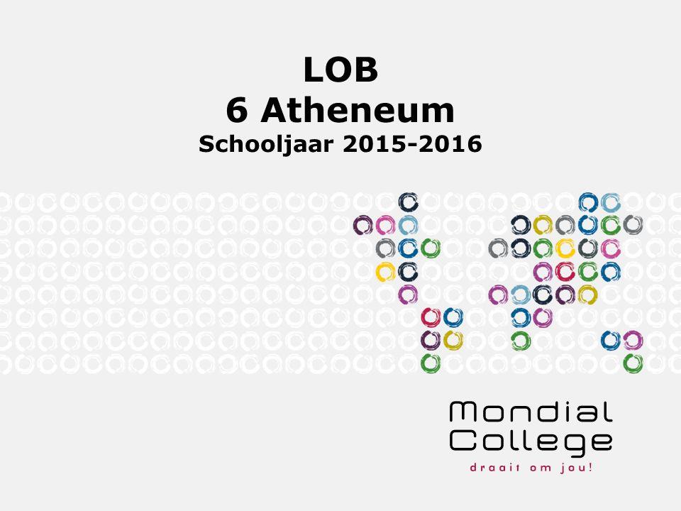 LOB 6 Atheneum Schooljaar 2015-2016