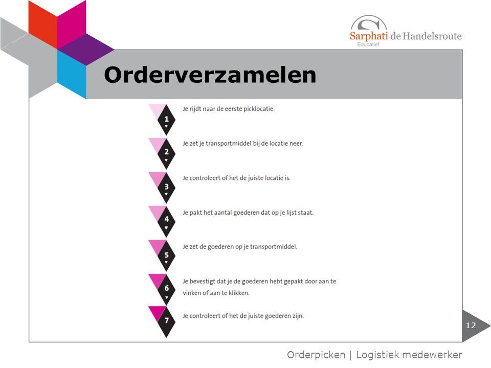 12 Orderpicken | Logistiek medewerker Orderverzamelen