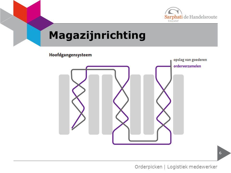 Magazijnrichting 7 Orderpicken   Logistiek medewerker