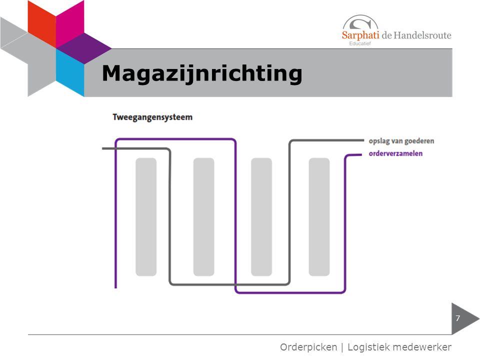 Magazijnrichting 7 Orderpicken | Logistiek medewerker