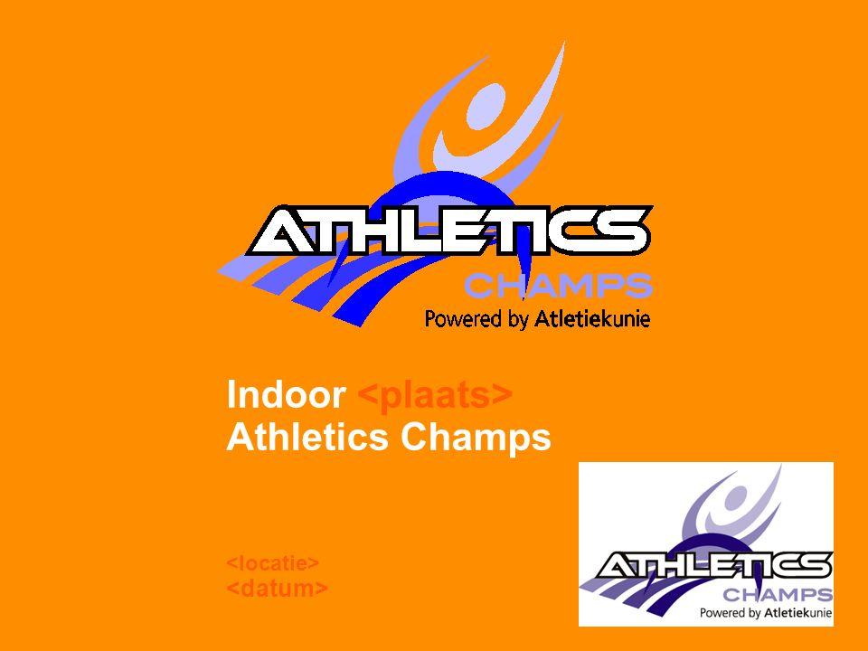 Indoor Athletics Champs