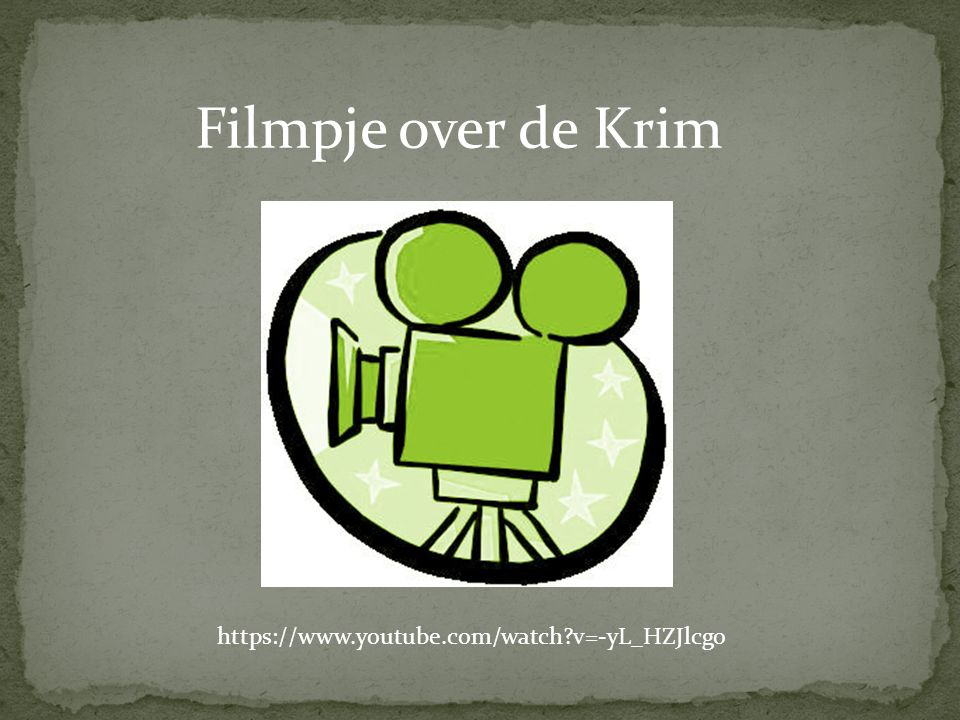 Filmpje over de Krim https://www.youtube.com/watch?v=-yL_HZJlcgo