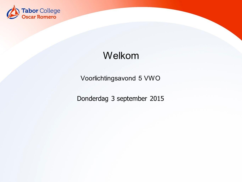 Voorstellen Mevrouw Poort, mentor v5a Mevrouw Klinkenberg, mentor v5b en leerlingcoördinator Mevrouw Ter Velde, conrector