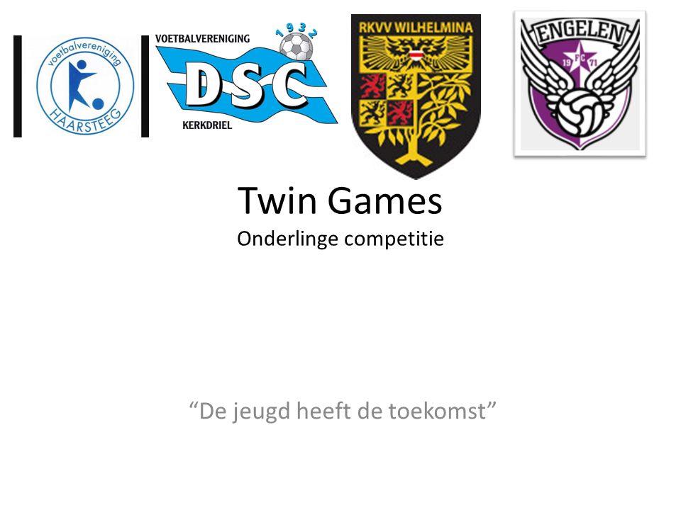 """Twin Games Onderlinge competitie """"De jeugd heeft de toekomst"""""""