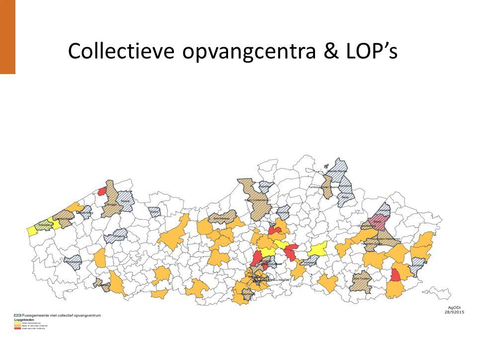 Collectieve opvangcentra & LOP's