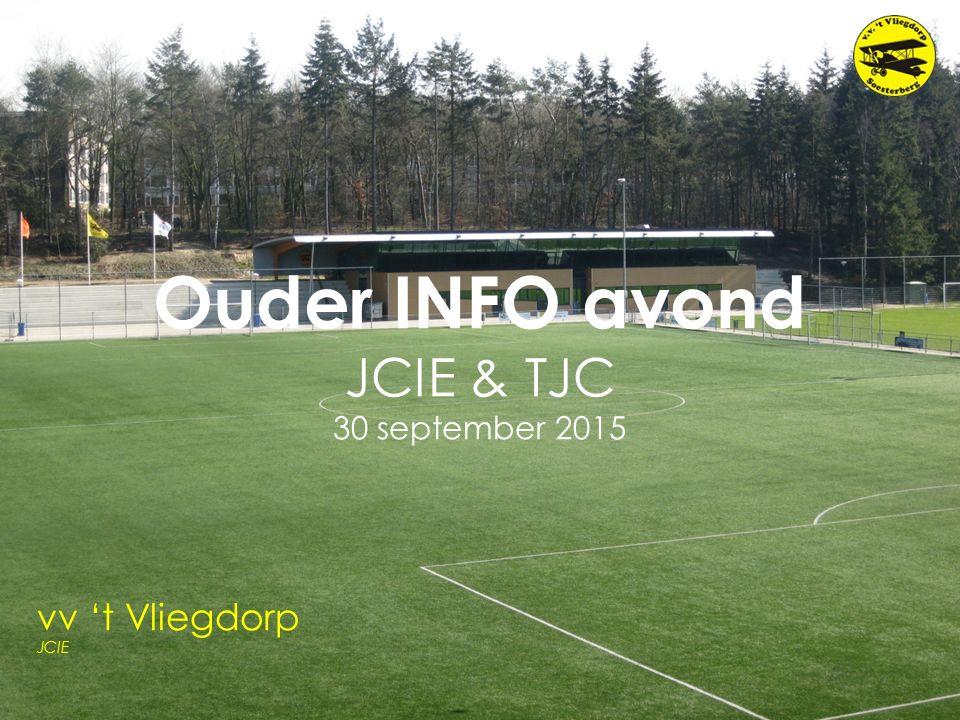 Ouder INFO avond JCIE & TJC 30 september 2015 vv 't Vliegdorp JCIE