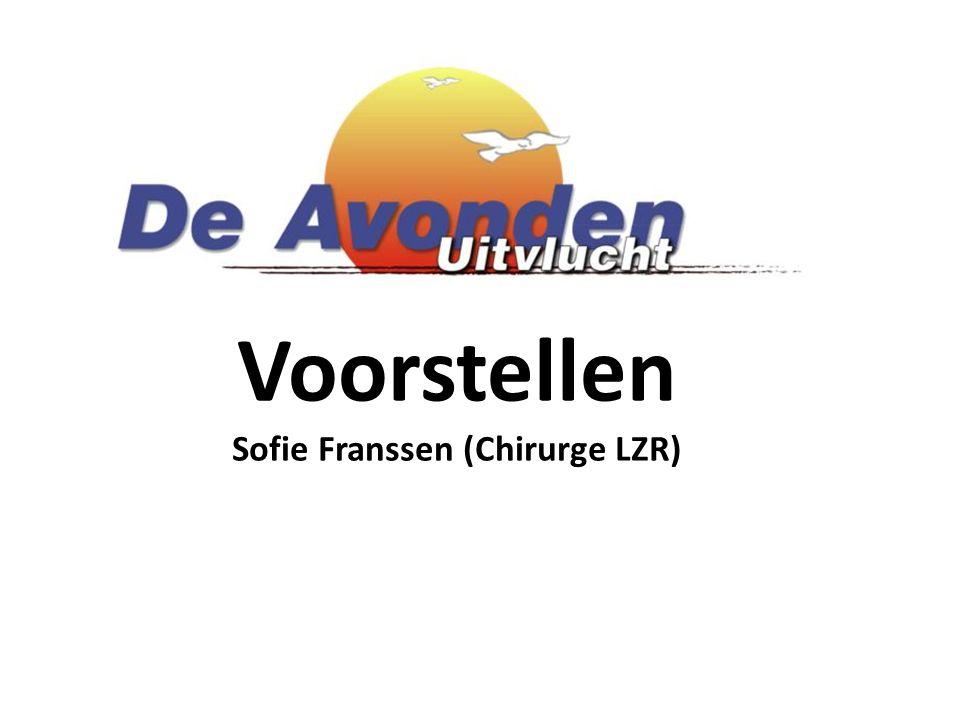 Voorstellen Sofie Franssen (Chirurge LZR)