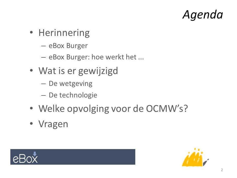 Agenda Herinnering – eBox Burger – eBox Burger: hoe werkt het...