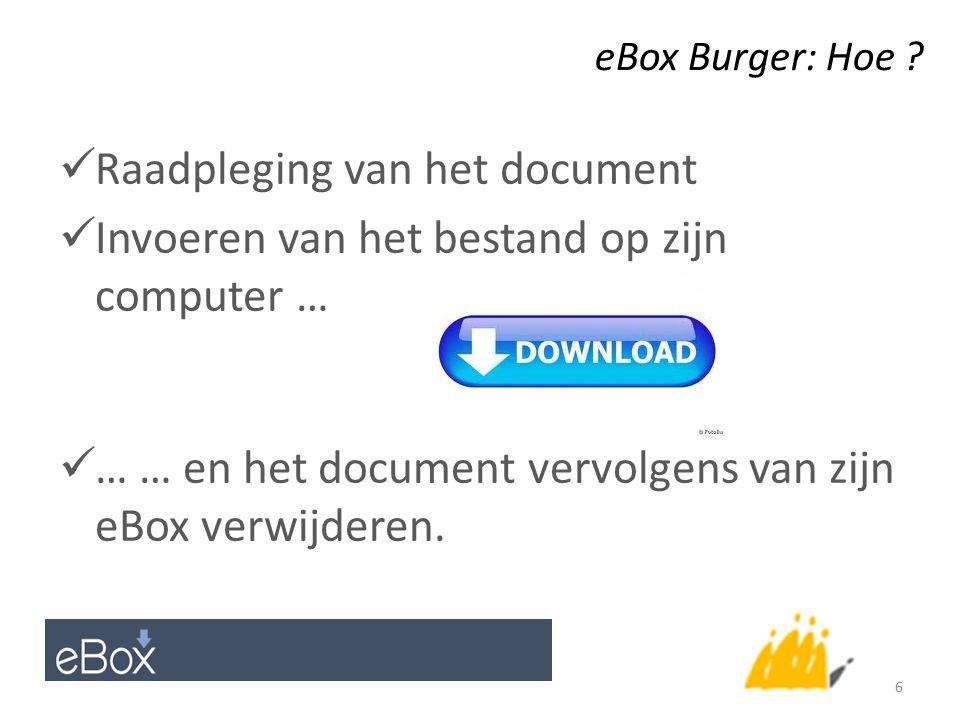 eBox Burger: Hoe .