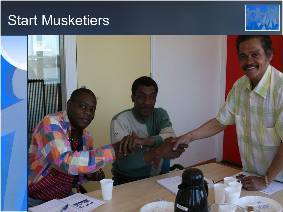 Start Musketiers