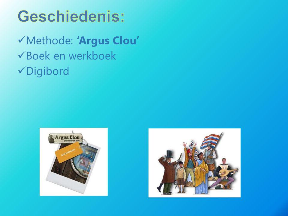 Methode: 'Argus Clou' Boek en werkboek Digibord