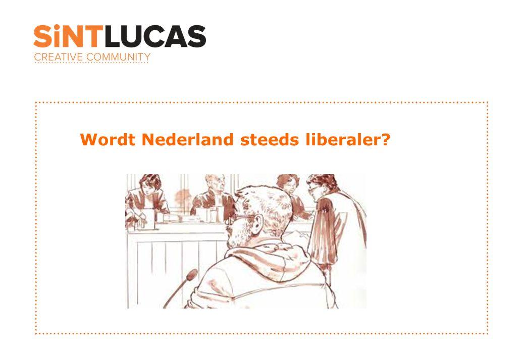 Wordt Nederland steeds liberaler?