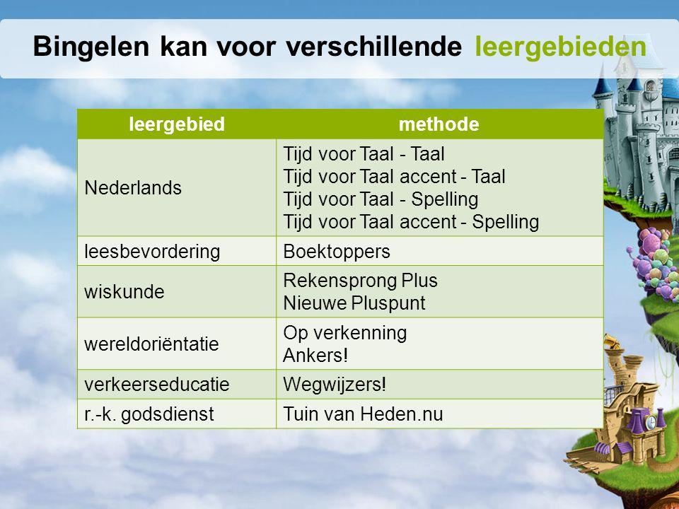 leergebiedmethode Nederlands Tijd voor Taal - Taal Tijd voor Taal accent - Taal Tijd voor Taal - Spelling Tijd voor Taal accent - Spelling leesbevorde