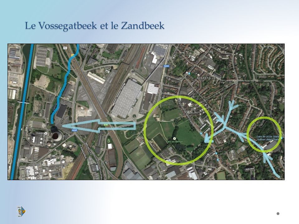 Le Vossegatbeek et le Zandbeek