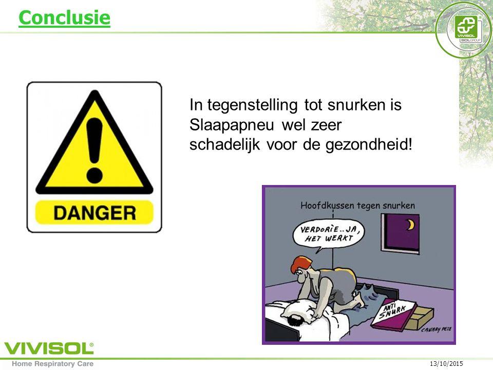 13/10/2015 In tegenstelling tot snurken is Slaapapneu wel zeer schadelijk voor de gezondheid.