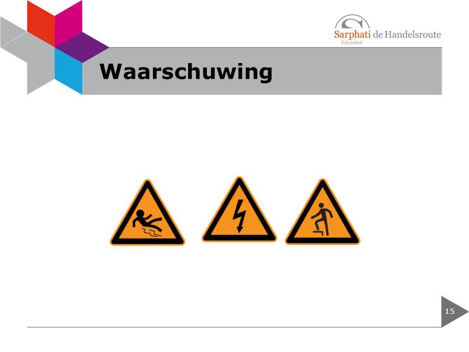 Waarschuwing 15