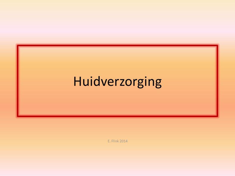 Huidverzorging E. Flink 2014