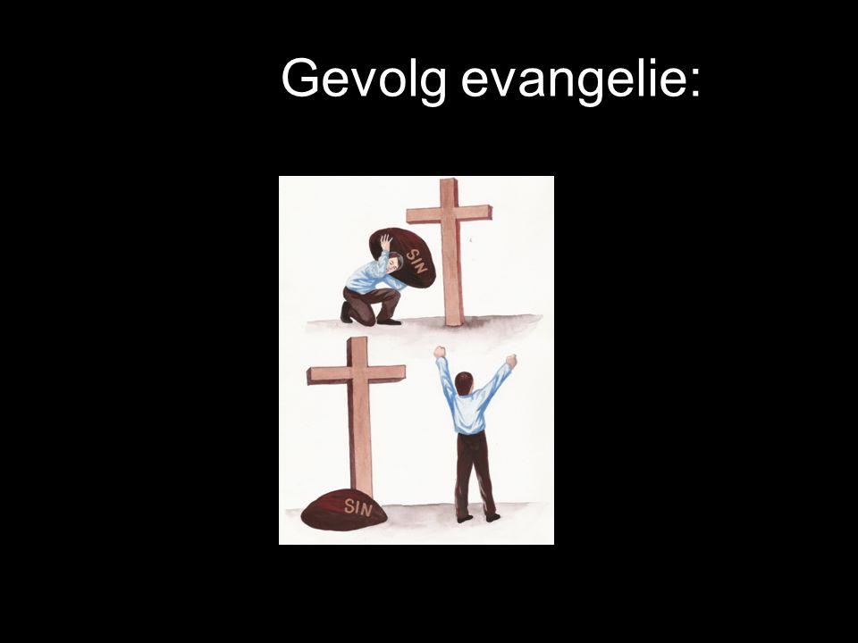Gevolg evangelie: