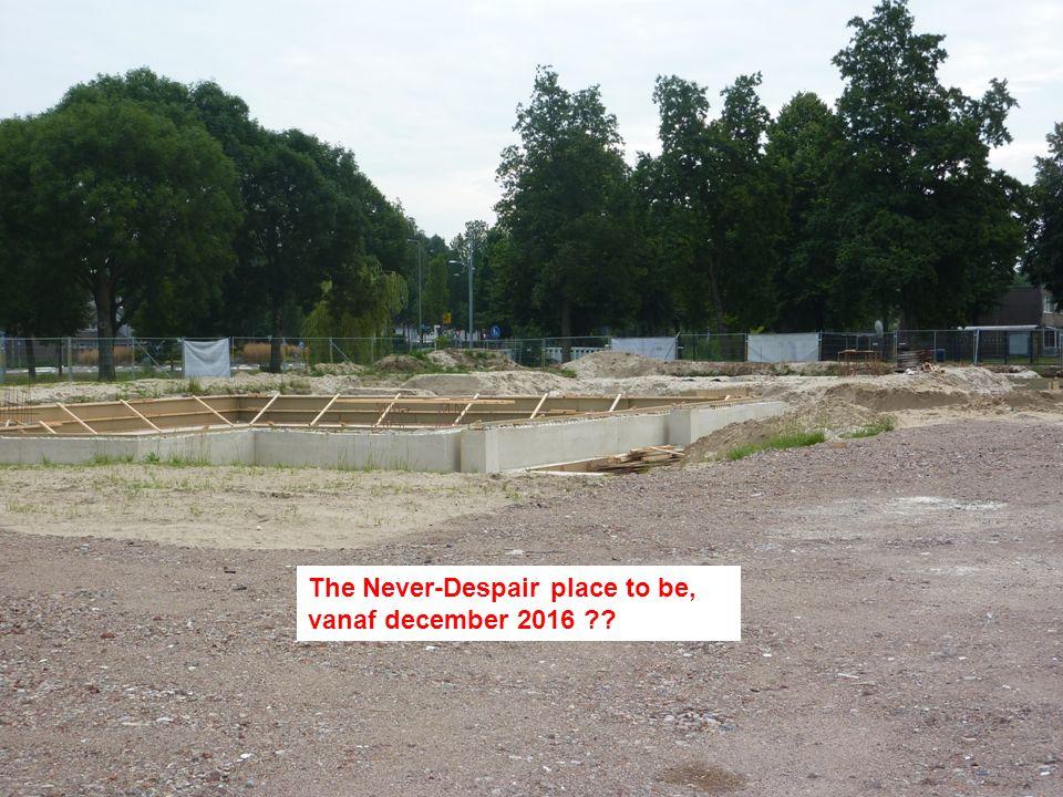 Foto's van de plaats waar onze nieuwe tt-accommodatie komt, genomen op 9-8-2015.