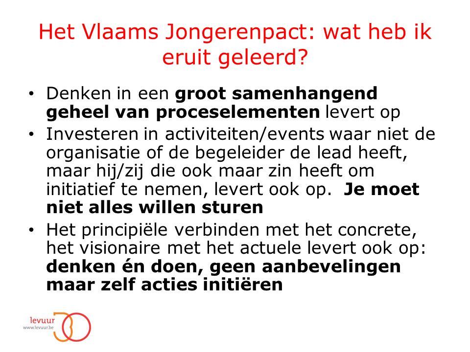 Het Vlaams Jongerenpact: wat heb ik eruit geleerd.
