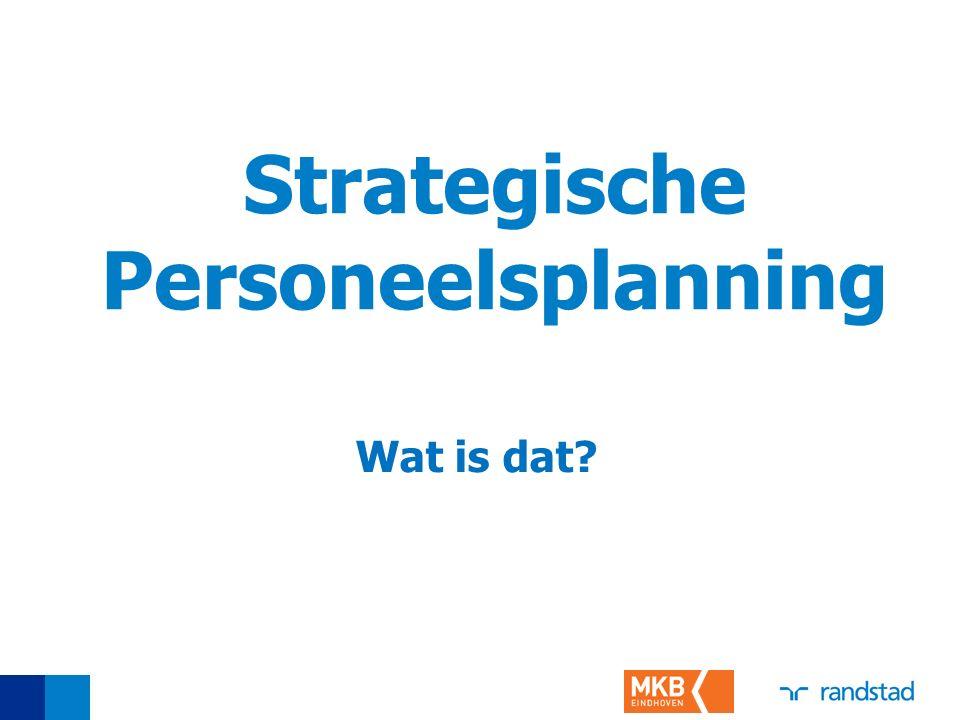 Strategische Personeelsplanning Wat is dat?
