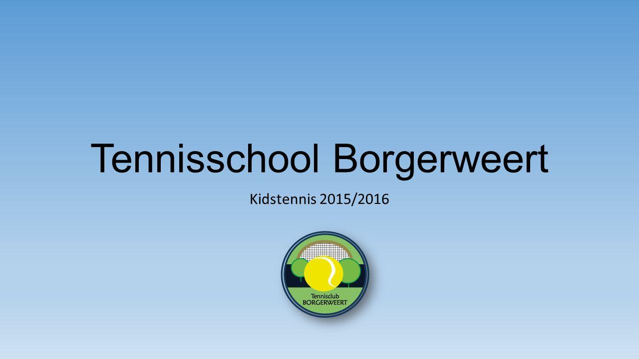 Tennisschool Borgerweert Kidstennis 2015/2016