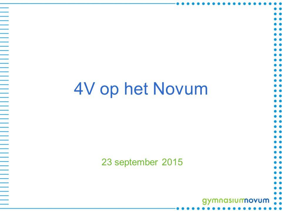 4V op het Novum 23 september 2015