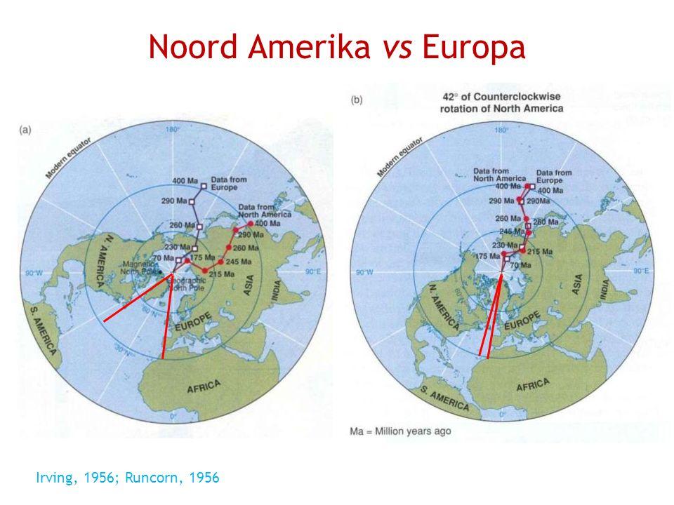 Noord Amerika vs Europa Irving, 1956; Runcorn, 1956