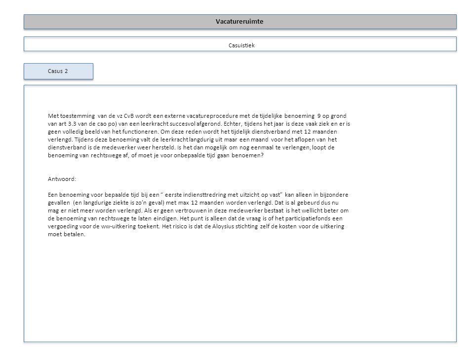 Intern oplossen vacature intranet Plaatsingsvolgorde Gedwongen overplaatsing Extern oplossen Toestemming CvB 1.