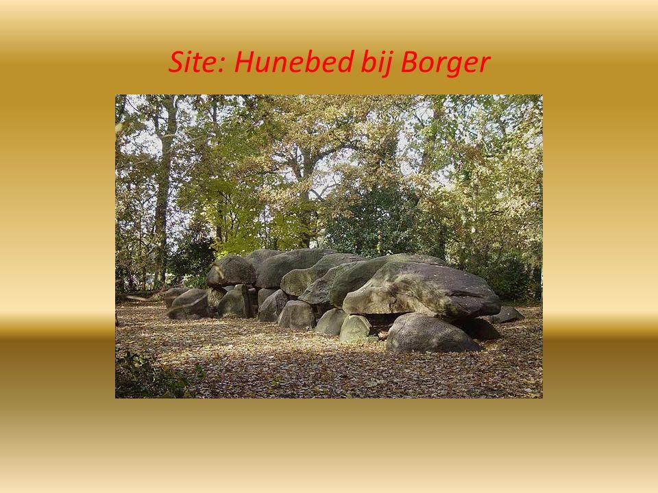 Site: Hunebed bij Borger
