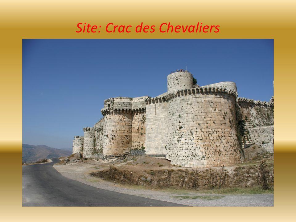 Site: Crac des Chevaliers