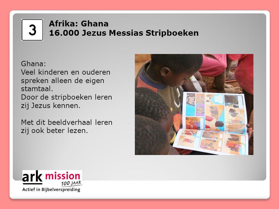 Afrika: Ghana John: 'Ik kreeg een Jezus Messias Stripboek in mijn eigen stamtaal.