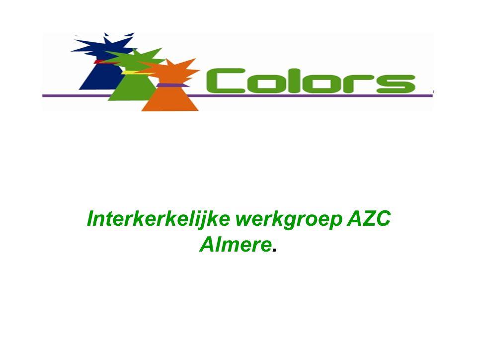 Interkerkelijke werkgroep AZC Almere.