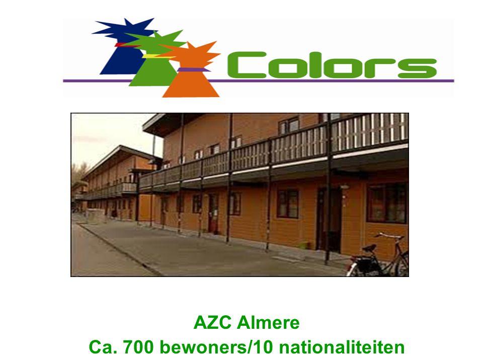 Doel: Asielzoekers ondersteunen gedurende hun verblijf in het AZC en in Nederland.