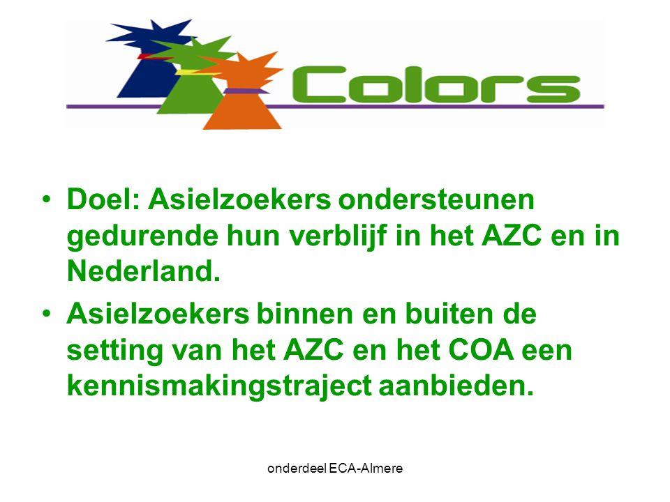Individuele begeleiding onderdeel ECA-Almere