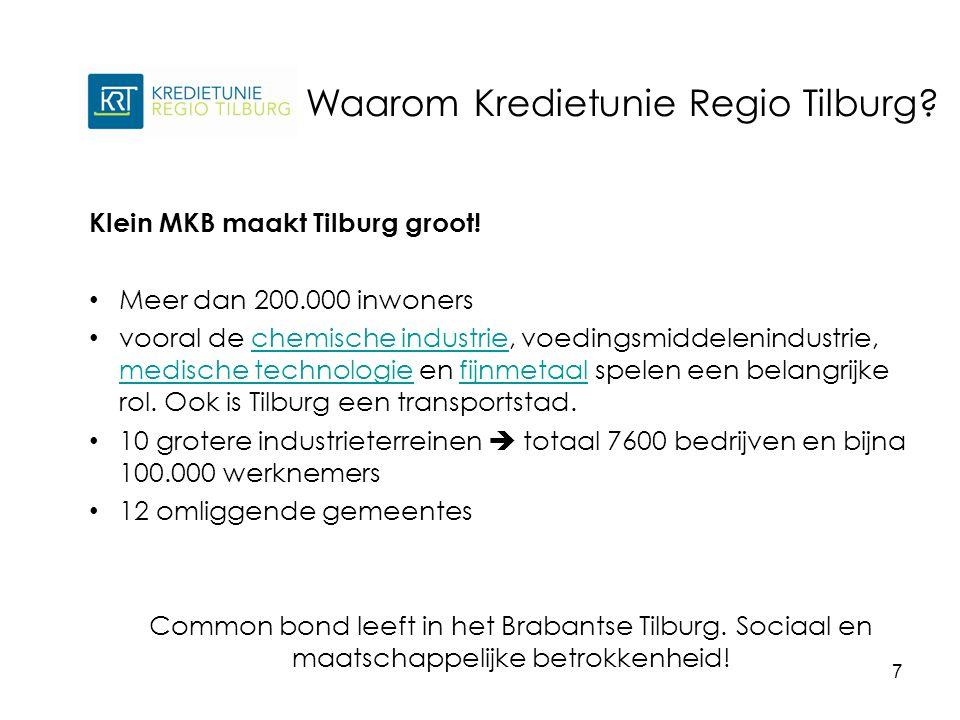 Klein MKB maakt Tilburg groot.