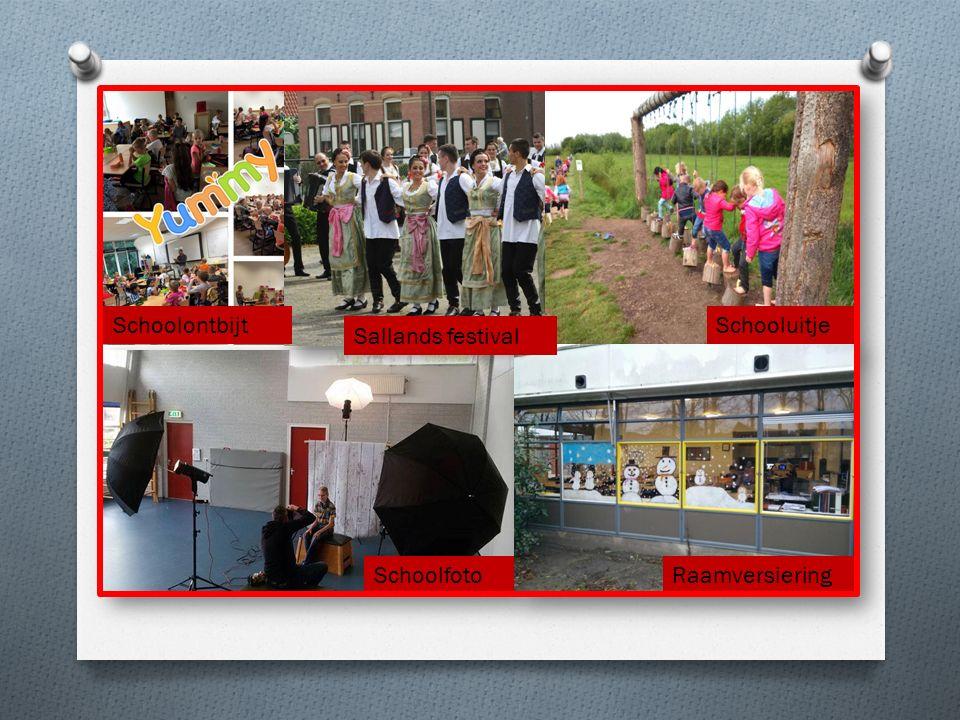Schoolontbijt Sallands festival Schoolfoto Schooluitje Raamversiering