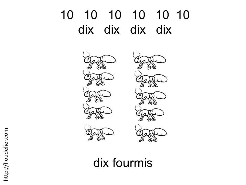 10 10 10 dix dix dix fourmis http://houdelier.com